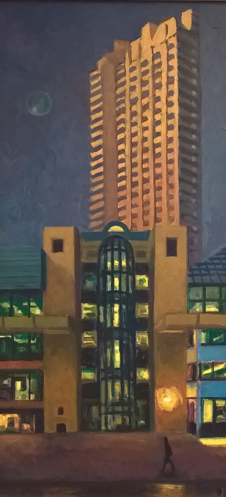 The Barbican, early morning