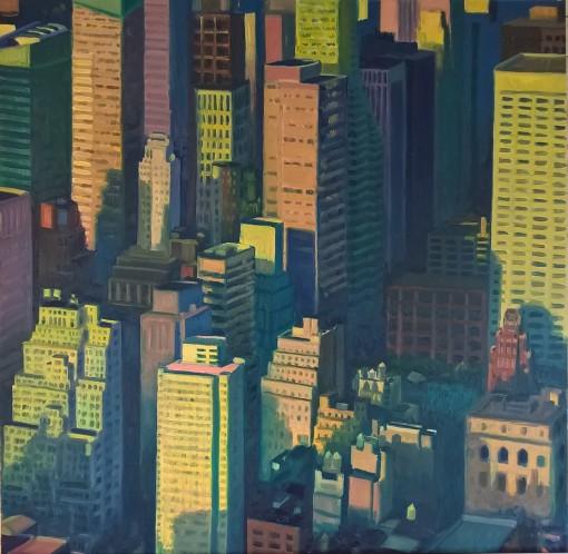 Sixth Avenue Sunset